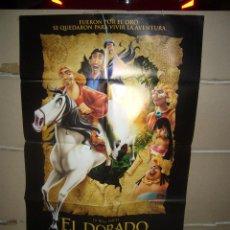 Cine: LA RUTA HACIA EL DORADO POSTER ORIGINAL 70X100 YY(1705). Lote 100757859