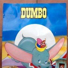 Cine: DUMBO DISNEY AUTENTICO. 1993. ENVIO INCLUIDO EN EL PRECIO.. Lote 101015195