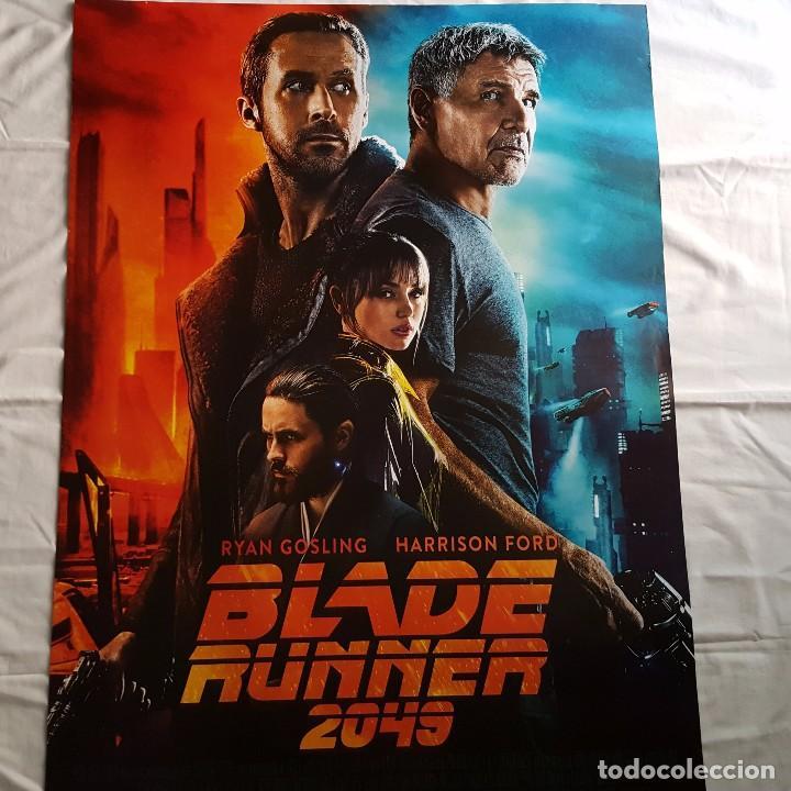 PÓSTER ORIGINAL BLADE RUNNER 2049 (Cine - Posters y Carteles - Ciencia Ficción)
