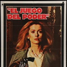 Cine: EL JEGO DEL PODER - ECOUTE VOIR... 1979 - HUGO SANTIAGO - CATHERINE DEVEUVE. Lote 101148079