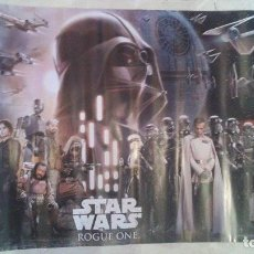 Cine: POSTER STAR WARS ROGUE ONE - TAMAÑO 42CMX59CM AÑO 2017 DISNEY. Lote 101188167