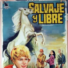 Cine: SALVAJE Y LIBRE. MARK LESTER. CARTEL ORIGINAL 1969. 70X100. Lote 101210459