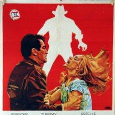 Cine: YO VIGILO EL CAMINO. GREGORY PECK. JOHN FRANKENHEIMER. CARTEL ORIGINAL 1971. 70X100. Lote 101219539