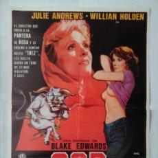 Cinema: CARTEL CINE, S.O.B. SOIS HONRADOS BANDIDOS. JULIE ANDREWS, AÑO 1981, POSTER ORIGINAL 100X70. Lote 101242631