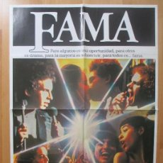 Cine: CARTEL CINE, FAMA, ALAN PARKER, 1980, C1037. Lote 101376911