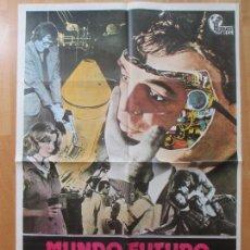 Cine: CARTEL CINE, MUNDO FUTURO, PETER FONDA, ARTHUR HILL, 1977, C1041. Lote 213585075