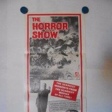 Cine: THE HORROR SHOW - CARTEL ORIGINAL USA - 34 X 76. Lote 101431599