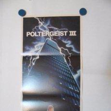 Cine: POLTERGEIST III - CARTEL ORIGINAL USA - 34 X 76. Lote 101432291
