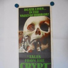 Cine: TALES FROM THE CRYPT - CARTEL ORIGINAL AUSTRALIANO - 34 X 76. Lote 101432915