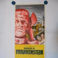 Cine: HORROR OF FRANKENSTEIN - CARTEL ORIGINAL AUSTRALIANO - 34 X 76. Lote 101433187