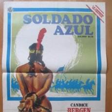 Cine: CARTEL CINE, SOLDADO AZUL, CANDICE BERGEN, DONALD PLEASENCE, C1124. Lote 101469651