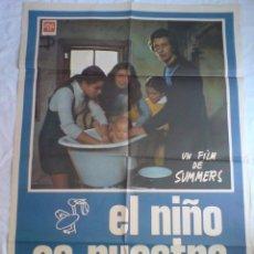 Cine: PÓSTER ORIGINAL EL NIÑO ES NUESTRO. Lote 101484311