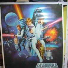 Cine: LA GUERRA DE LAS GALAXIAS STAR WARS EPISODIO IV GEORGE LUCAS POSTER 70X100. Lote 101986439