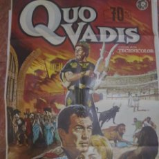 Cine: CARTELERA ORIGINAL DE 70X100 QUO VADIS. Lote 102381143