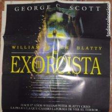 Cine: EL EXORCISTA CARTELERA ORIGINAL 70X100. Lote 102392335