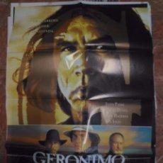 Cine: GERONIMOCARTELERA ORIGINAL 70X100. Lote 102392383