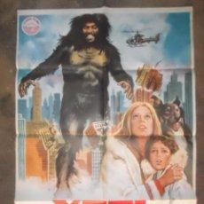 Cine: CARTEL POSTER PELICULA CINEMA YETI 1978. Lote 102495915
