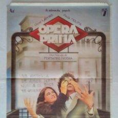 Cine: CARTEL CINE, OPERA PRIMA. OSCAR LADOIRE, PAULA MOLINA, ANTONIO RESINES. AÑO 1980 POSTER ORIGINAL. Lote 102579783