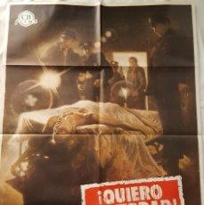 Cine: PÓSTER ORIGINAL ¡QUIERO LA VERDAD! (1975). Lote 102826087