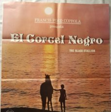 Cine: PÓSTER ORIGINAL EL CORCEL NEGRO. Lote 102922639