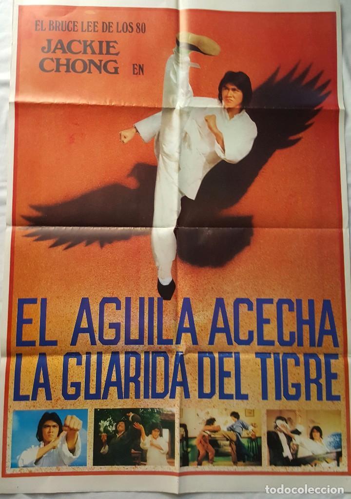 PÓSTER ORIGINAL EL ÁGUILA ACECHA LA GUARIDA DEL TIGRE (Cine - Posters y Carteles - Acción)