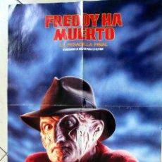 Cine: FREDDY HA MUERTO PESADILLA FINAL POSTER CARTEL. Lote 102955443