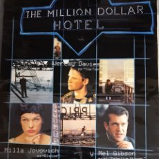 Cine: THE MILLION DOLLAR HOTEL (CARTEL DE CINE) A.2000. Lote 102982711