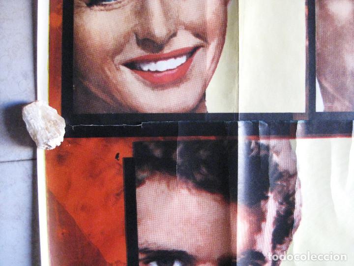 Cine: EL ROLLS ROYCE AMARILLO. INGRID BERGMAN, SHIRLEY MACLAINE, ALAIN DELON. 1965 POSTER 3 PIEZAS - Foto 9 - 103028967