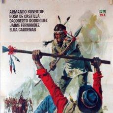 Cine: PUEBLO DE ODIOS. CARTEL ORIGINAL 1965. 70X100. Lote 103227651