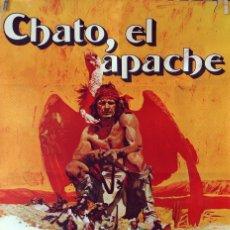 Cine: CHATO, EL APACHE. CHARLES BRONSON-JACK PALANCE. CARTEL ORIGINAL 1972. 70X100. Lote 103228375