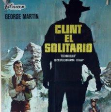 Cine: CLINT, EL SOLITARIO. FERNANDO SANCHO. CARTEL ORIGINAL 1966. 70X100. Lote 103228671