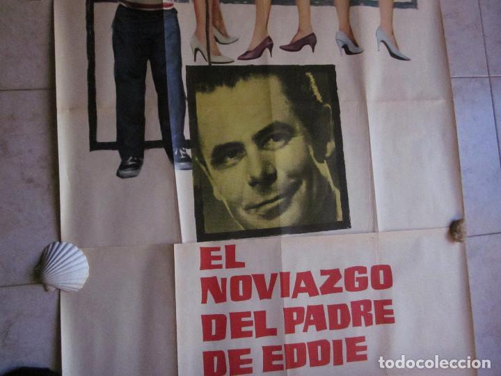 Cine: EL NOVIAZGO DEL PADRE DE EDDIE. GLEN FORD, SHIRLEY JONES. AÑO 1963. POSTER 3 PIEZAS - Foto 4 - 103381011