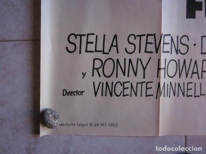 Cine: EL NOVIAZGO DEL PADRE DE EDDIE. GLEN FORD, SHIRLEY JONES. AÑO 1963. POSTER 3 PIEZAS - Foto 5 - 103381011