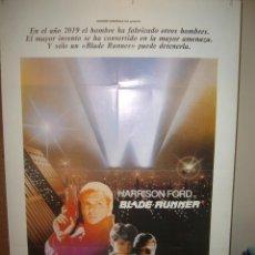 Cine: BLADE RUNNER RIDLEY SCOTT HARRISON FORD RUTGER HAUER POSTER 70X100. Lote 103395275