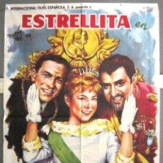 Cine: YB79 SU ALTEZA LA NIÑA ESTRELLITA JOSE LUIS ANTONIO MARIANO OZORES POSTER ORIGINAL 70X100 ESTRENO. Lote 103408607
