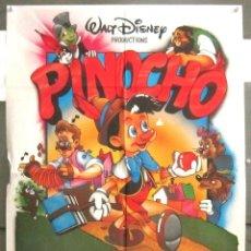 Cine: YB42 PINOCHO WALT DISNEY POSTER ORIGINAL 70X100 ESPAÑOL. Lote 103483467