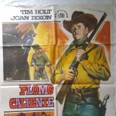 Cine: PÓSTER ORIGINAL PLOMO CALIENTE (1968). Lote 103513379