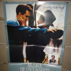 Cine: MUERTE DE UN VIAJANTE DUSTIN HOFFMAN POSTER ORIGINAL 70X100 Q. Lote 103522611