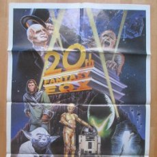 Cine: CARTEL CINE, 20TH FANTASY FOX, STAR WARS, FRANKENSTEIN, SIMIOS, C1191. Lote 103609303
