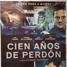 Cine: PÓSTER CIEN AÑOS DE PERDÓN. Lote 103610307