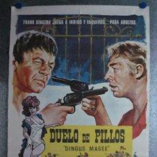 Cine: DUELO DE PILLOS. FRANK SINATRA, GEORGE KENNEDY. AÑO 1971. Lote 103675479