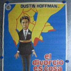 Cine: EL DIVORCIO ES COSA DE TRES. DUSTIN HOFFMAN. AÑO 1972. Lote 103675735