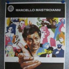 Cine: UN ITALIANO EN CHICAGO. MARCELLO MASTROIANNI, LAUREN HUTTON. AÑO 1973. Lote 103676159