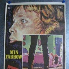 Cine: TERROR CIEGO. MIA FARROW. AÑO 1972. Lote 103676467