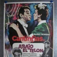 Cine: ABAJO EL TELON. MARIO MORENO, CANTINFLAS, CHRISTIANE MARTELL. AÑOS 70. Lote 103677543