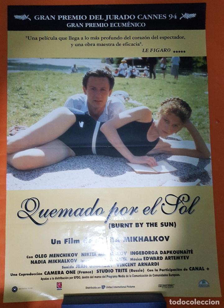 cartel de cine original - quemado por el sol - - Comprar Carteles y ...