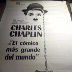 Cine: EL CÓMICO MAS GRANDE DEL MUNDO - CHARLES CHAPLIN. Lote 103802447