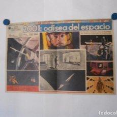 Cine: ODISEA 2001 - LOBBY CARD MINI POSTER ORIGINAL TAMAÑO 63 X 41 CENTIMETROS. Lote 103912563