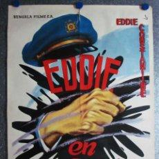 Cine: EDDIE EN ACCION. EDDIE CONSTANTINE, MARIA SEBALDT. AÑO 1960. Lote 104064703