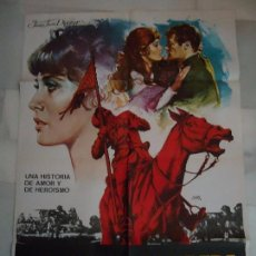 Cine: CARTEL. ORIGINAL LA ULTIMA BANDERA, 1977. SIMÓN WARD, JHON FINCH. 100X70. Lote 104089143